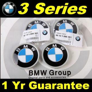 X4 Genuine BMW Wheel Center Caps 3 Series E36 E46 E90 E92 E93 Z3 P N