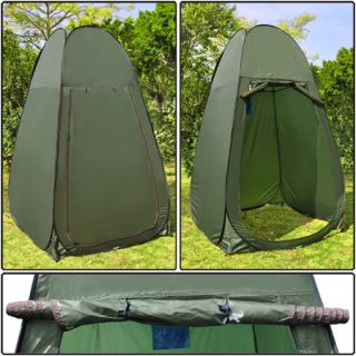 Green Portable Changing Tent Camping Toilet Pop Up Room Privacy