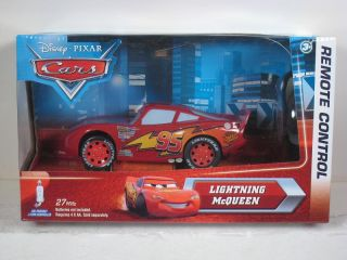 Disney Pixar Cars Lightning McQueen Radio Remote Control Little Rides
