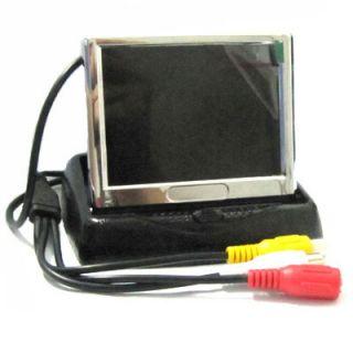 TFT LCD Fold and Unfold Monitor Car Reversing Backup Screen