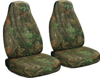 Dodge RAM 40 20 40 Hi Back Car Seat Covers Camo Tree
