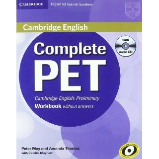 Complete PET for Spanish Speakers Workbook without answers with Audio