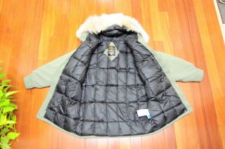 Canada GOOSE Aurora Parka Jacket Coat Green 3 Sizes   100 Authentic