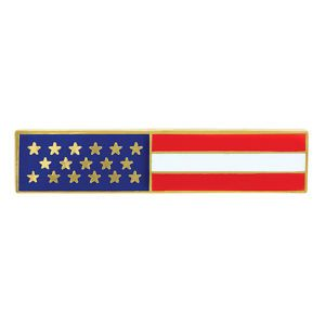 USA American Flag Uniform Pin Award Medal Emblem Deal