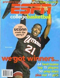 1995 ESPN College Basketball Magazine Marcus Camby