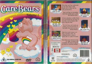Care Bears Volume 2 Classic Cartoon 6 Episodes New DVD