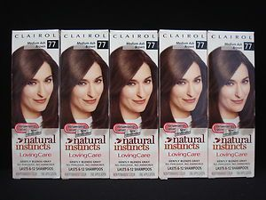 Natural Instincts Loving Care Hair Color Medium Ash Brown 77