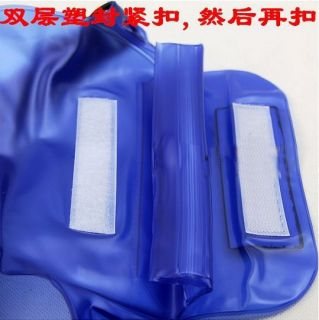 Blue Waterproof Underwater Housing Dry Bag Case for Camera Canon 7D