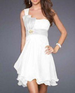 Short Party Cocktail Dress Bridesmaids Dress Bride Bridal Dress