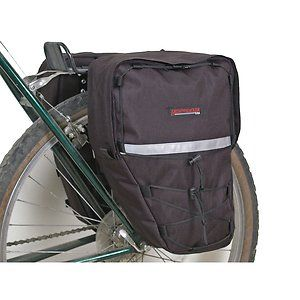 Bike Pannier Bicycle Rack Cycling Cargo Bag Front Rear Pack