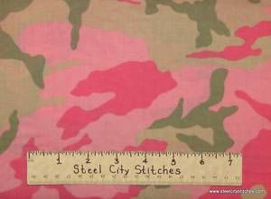 Camouflage Girl Pink Green Camo Military Hunting Girly Cotton Novelty