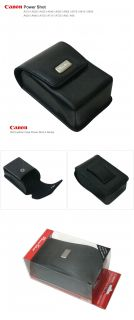 New Canon Genuine Leather Camera Case Pouch for A510 A520 A530 A540