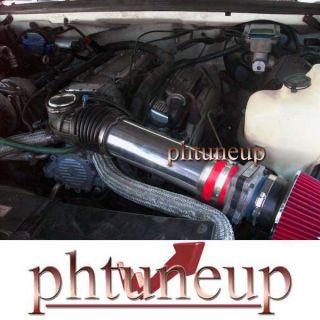 Red 1994 1996 Chevy Caprice Impala SS 4 3 4 3L 5 7 5 7L Air Intake Kit