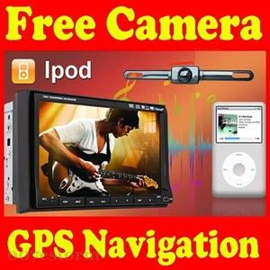 Cool Car Stereo DVD Radio GPS Player Monitor iPod Bluetooth 2 DIN