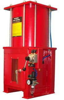 Ton Air Hydraulic Oil Filter Can Crusher w Stand