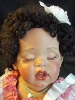 FayZah Spanos African American Baby Doll Caramel Cream /2500 AA
