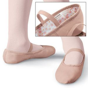 Capezio Daisy Ballet Shoes Pink Black White Child Sizes