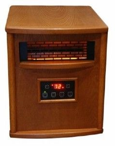 Lifesmart 1500 Watt Quartz Infrared Heater