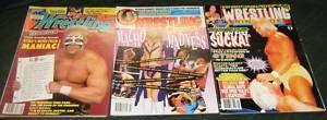 Wrestling Magazines WWF Hulk Hogan Captain Lou