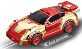 Carrera Go 62283 Marvel The Avengers Hero Team Chase Slot Car Racing