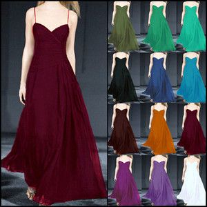 W22050 Bridesmaid Cocktail Dress Long Strappy Deep V Neck Party