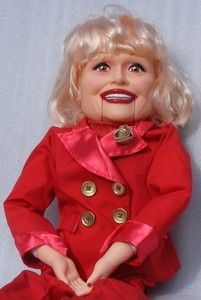 CAROL CHANNING 30 VENTRILOQUIST DOLL GOLDBERGER CO VENTRILOQUISM DOLLY