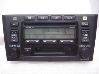 Toyota Avalon JBL Radio CD Player Tape 86120 AC090 2000 01 02 03 04
