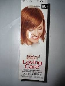 Clairol Natural Instinct Loving Care Hair Color Auburn 80