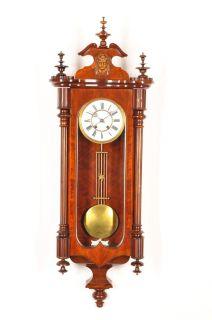Fantastic Antique Carl Werner Pendulum Wall Clock approx.1880