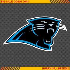 Carolina Panthers NFL Football Logo Car Bumper Window Wall Sticker