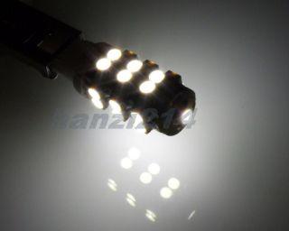 2X 25 SMD LED H1 Car Fog Light Xenon White Bulbs 24V DC