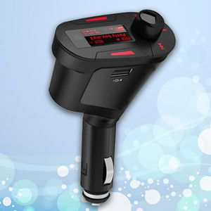 Red Car  Player FM Transmitter USB SD Slot 1 8 Car  Car Adapter