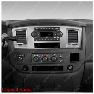 2006 09 Dodge RAM 3500 Car GPS Navigation Bluetooth iPod Radio  TV