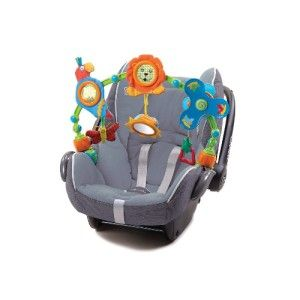 Stroll Stroller Car Seat Rattle Chime Clip on Activity Baby Toy