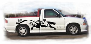 Puma Flames Graphics Car Truck Vinyl Die Cut Decals 6ft