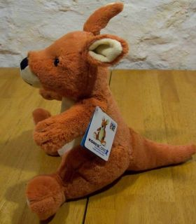 Kohls Eric Carle Extra Soft Kangaroo 11 Plush Stuffed Animal Toy New