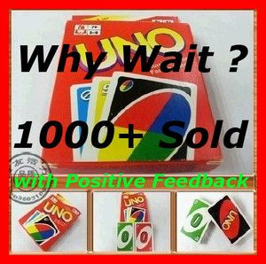 Uno Family Card Game Complete Double Pack 108 Cards