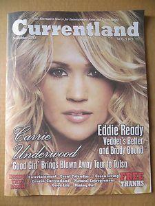 Carrie Underwood hometown Oklahoma entertainment newspaper magazine
