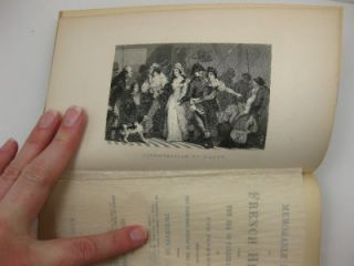 Late 1800s Memorable Scenes in French History Napoleon Antique Book