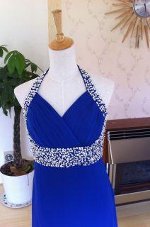 Royal Blue Evening Party Wedding Bridesmaid Dress