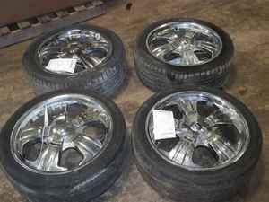 Aftermarket Alloy Wheels and Tires 235 45 R18 Altima