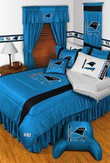 New NFL CAROLINA PANTHERS Football Twin Bed COMFORTER Sports Boys