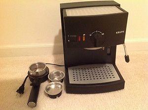 Krups 984 Espresso Novo 2000 Plus Pump Espresso Machine