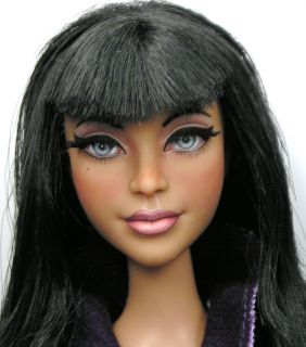 Cassie OOAK Stardoll Barbie Doll Art Custom Repaint by Artist Pamela