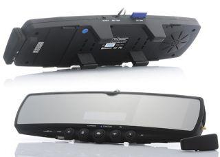 Car Rearview Mirror Wireless Parking Reverse Camera Monitor Bluetooth