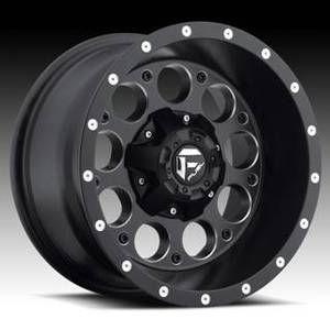 Revolver D525 15x8 Black 15x10 Wheel Set Truck Rims Wheels