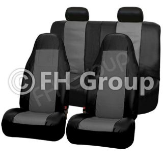 front bucket covers 1 rear bench seat cover(2 pcs 1 backrest cover