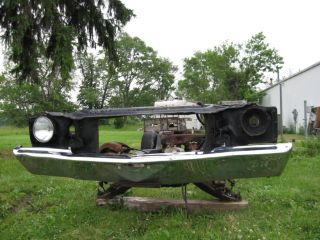1972 Chevy Monte Carlo SS Front Bumper and Brackets
