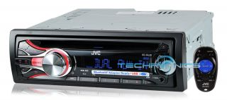 JVC KD R430 IN DASH CAR STEREO AM/FM CD IPOD USB RECEIVER W/ DUAL AUX