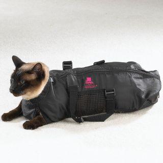 Heavy Duty Cat Feline Grooming Bag Bathing Restraint Top Performance